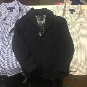Ralph Lauren Button Down Collared Shirts Cardigan